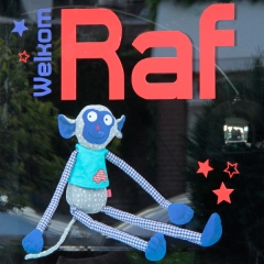 Geboortesticker Raf